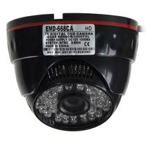 Camera Dome Cftv 1000l 48 Led Circuito Interno Visão Noturna