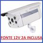 Camera Infravermelho 60mts 100mts Ccd Sony Effio 1200 Linhas