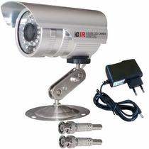 Camera Infravermelho 25 A 30mts Ccd Sony 1000linhas Fonte 1a