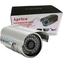 Camera Ccd Infra Vermelho 36 Leds 40m P Agua Linha Frete Gra