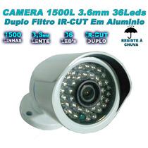 Câmera Infravermelho 1200 Linhas Filtro Ir Cut Lente 2,8mm