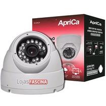 Camera Dome 24 Led Ccd Infra Verm 30mts 3,6mm Linhas Cftv Px