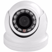 Camera Mini Dome Ferro Externa/interna Day/night 800 Linhas
