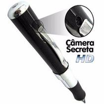 Caneta Espiã Câmera Filmadora Hd Espião Filma E Tira Fotos