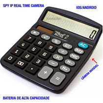 Ultra Calculadora Com Camera Ip Real Time Espionagem