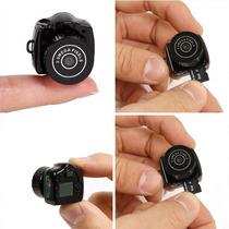 Mini Camera E Filmadora Dvr Espiã Espião Web Cam