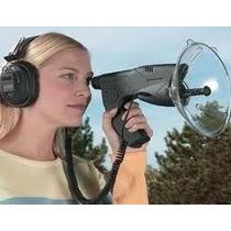 Antena Direcional Espiã Escuta E Grava Conversas A Distância