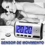 Relógio Câmera Espiã Escondida + Áudio + Sensor De Movimento