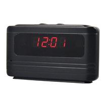 Relogio Espião De Mesa Despertador C/sensor Movimento Hd