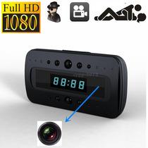 Relogio Espião Wifi Micro Camera Tempo Real Controle 1080p