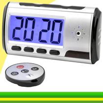 Despertador Espião Relógio Web Camera Escond Sensor De Movim