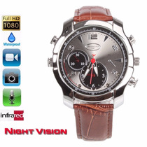 16gb Visão Noturna Relógio De Pulso Espião Filmadora