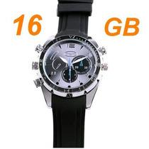 Relógio Espião Visão Noturna V6000 8g Hd 1080p Frete Grátis!