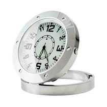 Relógio De Mesa Camera Espião Com Sensor De Movimento Card8g