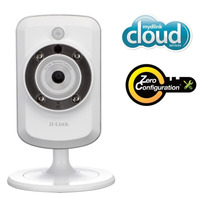 Camera Ip Wireless Cloud D-link Dcs-942l Zoom Noturna Grava