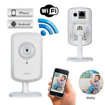 Câmera De Vigilância Wireless D-link Alertas Por E-mail