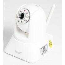 Camera Ip 300k Giratoria C/audio Gratis 1 Fonte 269