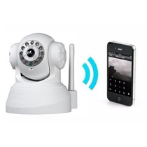 Camera Ip Wireless Visão Noturna Iphone, Android C/ Micro Sd