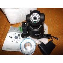 Camera Vigilancia Ip Wi-fi,giratoria,360,zoom,dia E Noite