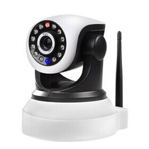 Camera Ip Wireless Visao Noturna Iphone, Android + Audio P2p