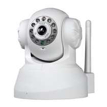 Camera Ip Infra Wireless P2p Controle Celular C/micro Sd+nf