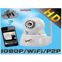 Câmera Ip 2mp Wifi Ips Sd Card - Produto Exclusivo