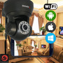 Camera Ip Wireless Apexis Apm J011-ws - Preta