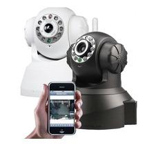 Câmera Ip Ir Wireless Visão Noturna Celular Iphone Android