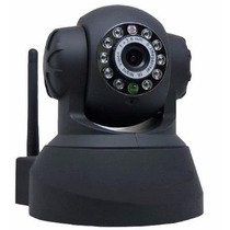 Câmera Vigilância Ip Wireless C/ Visão Noturna E Microfone