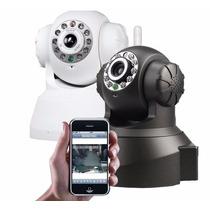Câmera Pro Ip Wireless Visão Noturna Acesso Celular Internet
