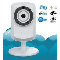 Camera Ip + Repetidor Wireless Dcs-933l Som E Visão Noturna