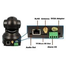 Camera Ip Ir Wireless Internet Entrada Micro Sd Noturno
