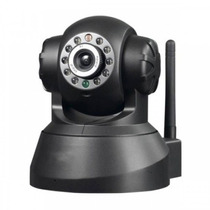Camera Ip Robo Wifi Infra Pantilt Controle Internet Rm383