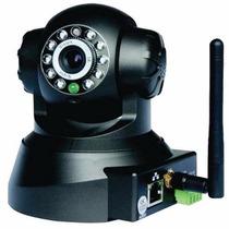 Câmera Ip Wi Fi Acesso Via Celular E Computador C/ Movimento