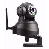 Camera Ip Wireless Wi-fi C/ Visão Noturna Micro Sd Com App