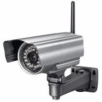 Câmera Ip Externa A Prova Chuva Ir Wifi Internet Celular Pc
