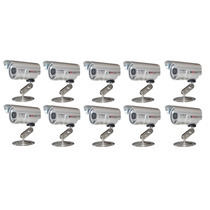 10 Cameras Cftv Infravermelho Ccd 1/3 Day Night 700 Linhas