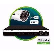 Dvr Intelbras Hdcvi 3116 - 16 Canais 720p Tríbido