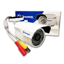 Camera Ir Greatek Externa Segc-7630g 36 Leds 760 Linhas Cftv