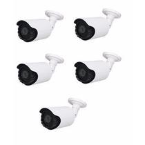 Kit 5 Câmeras Ahd 1.3 M Infra Vermelho 60m Sony1080 Cftv