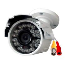 Câmera Infra Cmos 1/4 800 Linhas Lente 2,8mm Externo Greatek