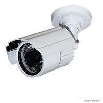 Camera Ccd Infra Vermelho 24 Leds 30mts Prova D´agua 700l