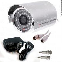 Camera Ccd Infra Vermelho 36 Led Prova D´agua 800l Mega Loja