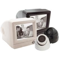 Kit Vigilância C/ Monitor, Câmera Pb, Cabo 20mts - Multitoc