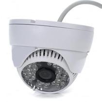 Camera Dome Ccd Infra Vermelho 48 Leds 30mts 1000linhas 3,6m