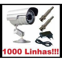 Câmera Segurança Ccd Infra 700 Linhas 36 Leds Prova D