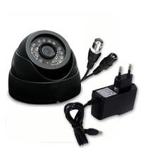 Camera Segurança Dome Vigilancia Leds Visao Noturna Empresas