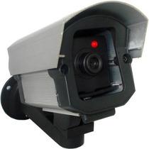 Câmera De Segurança Falsa C/led Vermelho 110v