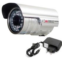 Câmera Segurança Visão Noturna Casa Ccd Digital 36 Leds Ac14