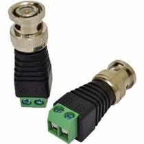 Conector Bnc Macho C/ Borne Kre Câmera Monitoramento